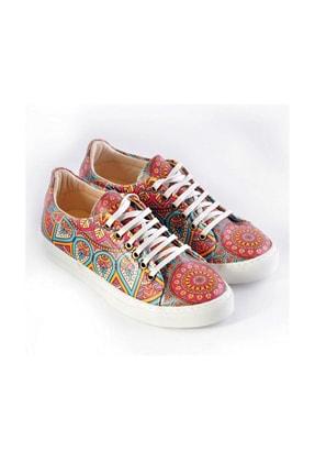 Goby Özel Tasarım-baskılı-mandala Desenli Sneaker