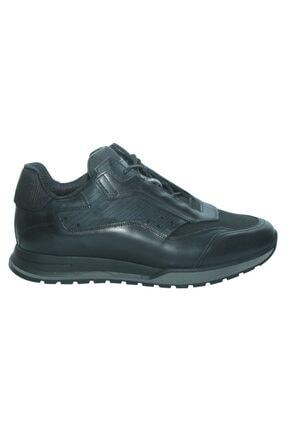 Greyder 14301 Siyah Deri Trendy Casual Erkek Ayakkabı