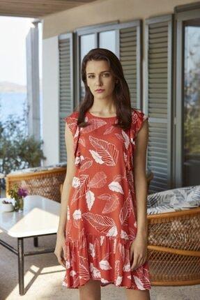 PENYE MOOD Kadın Kırmızı Elbise 8533