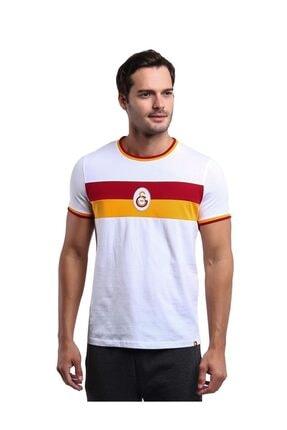Galatasaray Unisex Beyaz Tişört
