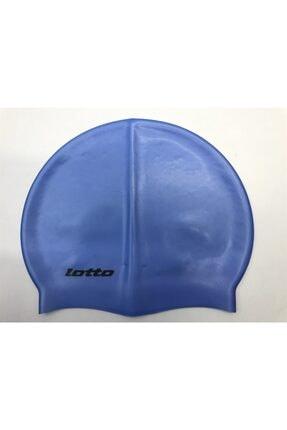 Lotto Unisex Mavi Yüzücü Bonesi