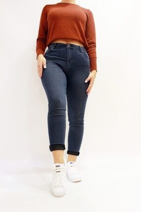 Twister Jeans Eva 9028-88 Likralı Yüksek Bel Kadın Kot Pantolın