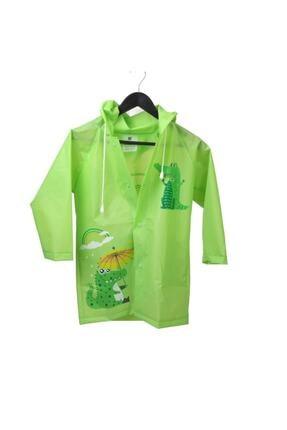 Sanbe Yeşil Unisex Çocuk Yağmurluk Yeşil-xxl 905 S 7001