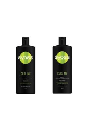 Syoss Curl Me Şampuan 500 ml 2'li Set