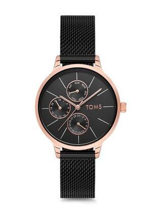 Toms Kadın Siyah Kol Saati