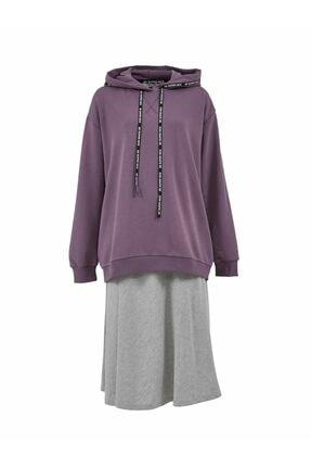 LTB Kadın Mor Sweatshirt 011218151461430000