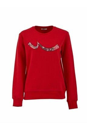 LTB Kadın Kırmızı Sweatshirt 0112181904610430000