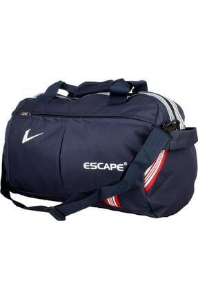 Escape  Unisex Lacivert Büyük Boy Spor Seyahat Çantası