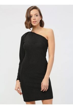 Quzu Kadın Siyah Elbise