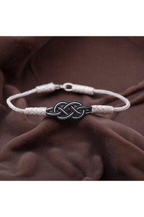 Sümer Telkari Kadın Kazaziye  El Sarması Gümüş Bileklik 2086