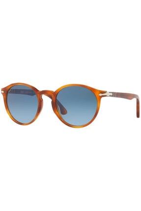 Persol Unisex Kahverengi Güneş Gözlüğü