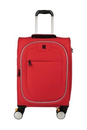 ITLUGGAGE Unisex Kırmızı Kabin Boy Valiz
