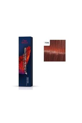 Wella Koleston Perfect Me+ Vibrant Reds 77/46 Yoğun Sarışın Kırmızı Mor 60ml. 8005610667966