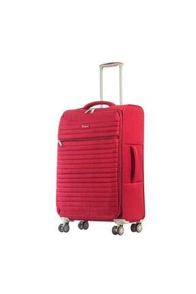 ITLUGGAGE Ity2148-m Kırmızı Unısex Orta Boy Valiz