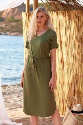 PENYE MOOD Kadın Yeşil Elbise 8717