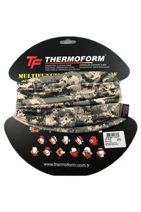 Thermoform Army Microfiber Boyunluk Kamuflaj Desen 3