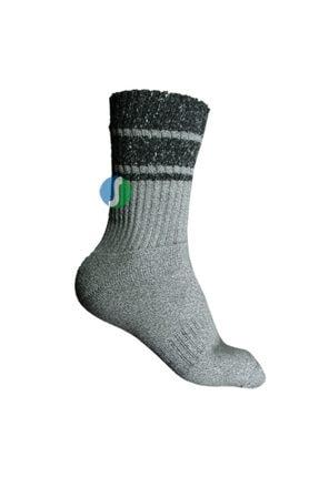 Thermoform Anti Blister Çorap Gri 39-42