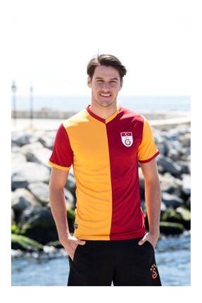 Galatasaray Unisex Kırmızı Lisanslı Efsane Fan Forma Tişört