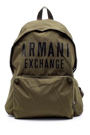 Armani Erkek Yeşil Sırt Çantası