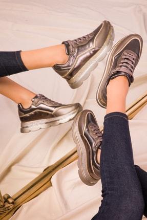 SOHO Platin Kadın Sneaker 15666