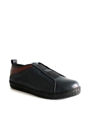 Beta Kadın Hakiki Deri Günlük Ayakkabı Lacivert