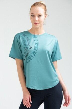 Speedlife Kadın Nefti Yeşili Violent Tişört