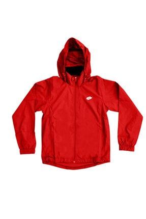 Lotto Unisex Çocuk Kırmızı Yağmurluk