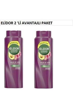 Elidor Avocado Özlü Şamp.650 Ml 2'li Avantajlı Pk.