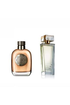 Oriflame Flamboyant Edt 75 ml Erkek Parfümü + Giordani Gold White Edp 50 ml Kadın Parfümü 2456712892108