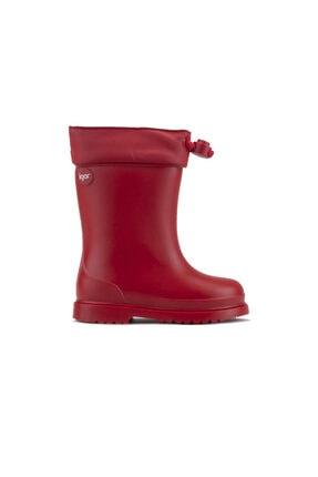 IGOR Unisex Kırmızı Yağmur Çizme 10100-005