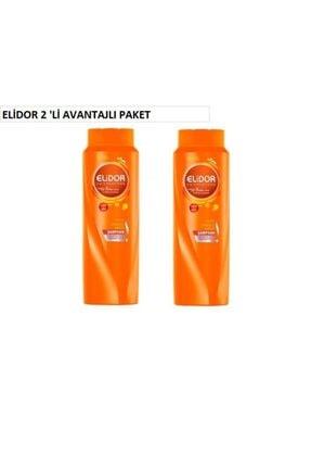 Elidor Onarıcı Şamp. 650 Ml 2'li Avantaj Paketi