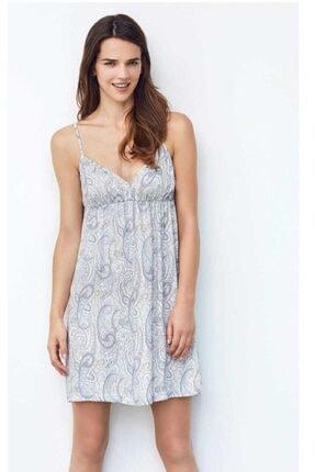 CATHERINE'S Kadın Gri İp Askılı Mini Elbise
