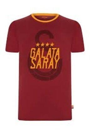Galatasaray Unisex Kırmızı Lisanslı Tshırt E90082