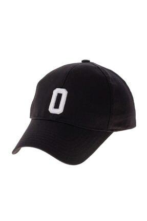 NORDBRON Unisex Siyah Baskılı Şapka