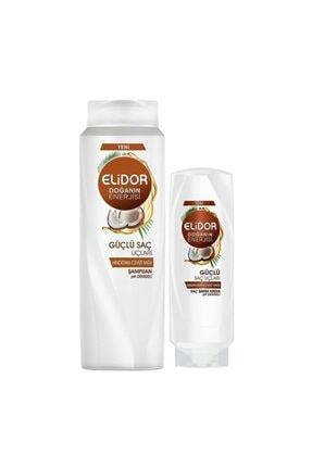 Elidor Güçlü Saç Uçları Şampuan 500ml+güçlü Saç Uçları Bakım Kremi 200ml
