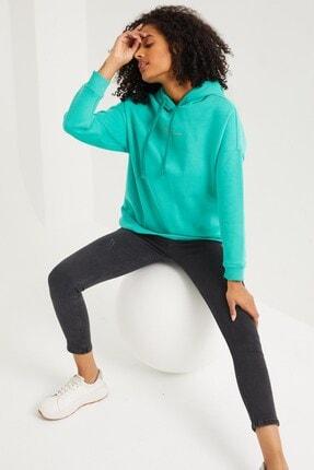 VENA Kadın Mavi Sweatshirt