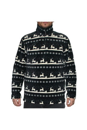 Thermoform Unisex Fermuarlı Polar Sweatshirt