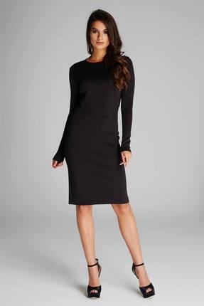Laranor Kadın Siyah Kalem Elbise