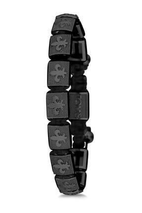 Toms Unisex Siyah Makrome Bileklik Tmj10594-694-b2