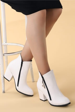 Ayakland 1111-2105 Cilt 6 Cm Topuk Termo Kadın Bot Ayakkabı