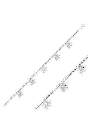 Silverella Gümüş 925 Ayar Sallantılı Fil Taşsız Bileklik