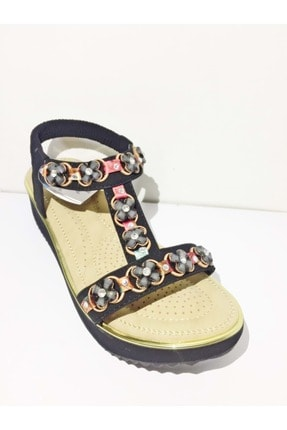 Guja Kadın Sandaleti 20y237-11 Siyah  39