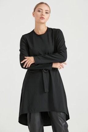 Nihan Kadın Siyah Tunik A5151