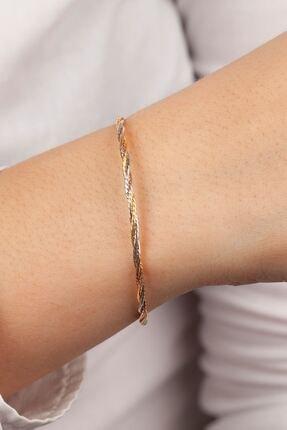 ESTİVA Kadın 925 Ayar Trend Gümüş Bileklik