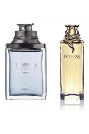Oriflame Possess The Secret Edp 75 ml Erkek Parfümü + Possess Kadın Edp 50 ml Parfümü  4870012863467