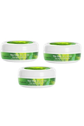 Hunca Tea Tree Oıl Cream 200 ml 3'lü Set