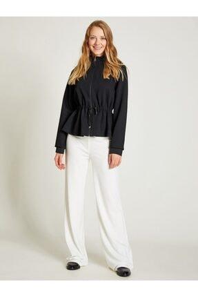 Vekem Kadın Beyaz Rahat Kesim Pantolon