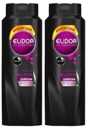 Elidor Esmer Parlaklık Şampuan 650 Ml X 2 Adet