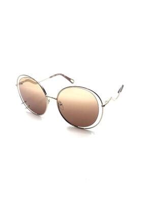 Chloé Kadın Sarı Güneş Gözlüğü Ce 153s - 59 / 19 / Gold / Gradıent Brown
