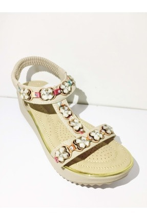 Guja Kadın Bej Sandalet